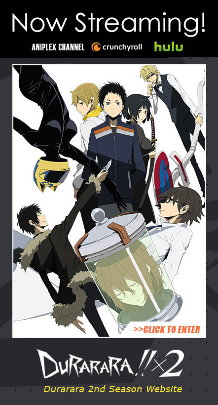 DURARARA!! 2nd Season Official Website